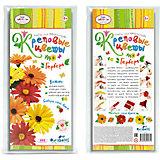 """Креповые цветы своими руками """"Гербера"""" 3 цвета в ассортименте."""