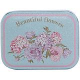 """Коробка для безделушек и мелочей """"Красивые цветы""""  10.5*8*6, Феникс-Презент"""