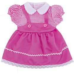 Одежда для кукол: розовое платье, JUNFA