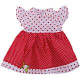 Одежда для кукол: красное платье, JUNFA