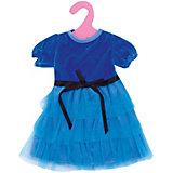 Одежда для кукол: синее платье, JUNFA