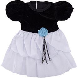 Одежда для кукол: черно-белое платье, JUNFA