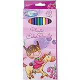 """Длинные цветные карандаши """"Единорог"""", 12 цветов"""