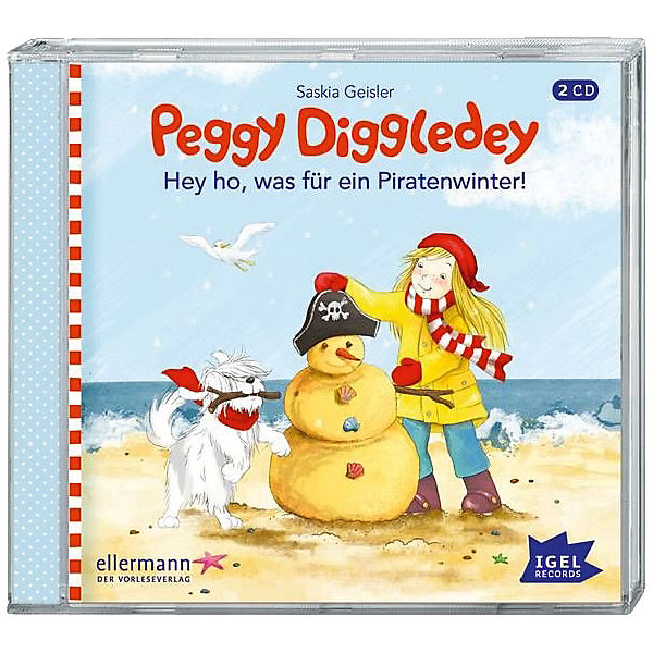 Peggy Diggledey: Hey ho, was für ein Piratenwinter! Audio-CD