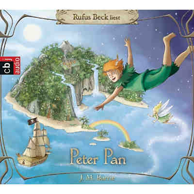 Peter Pan, 4 Audio-CDs