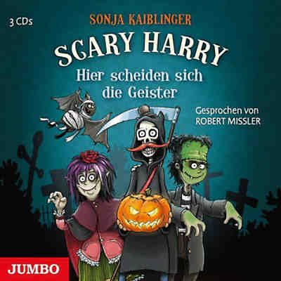 Scary Harry: Hier scheiden sich die Geister, 3 Audio-CDs