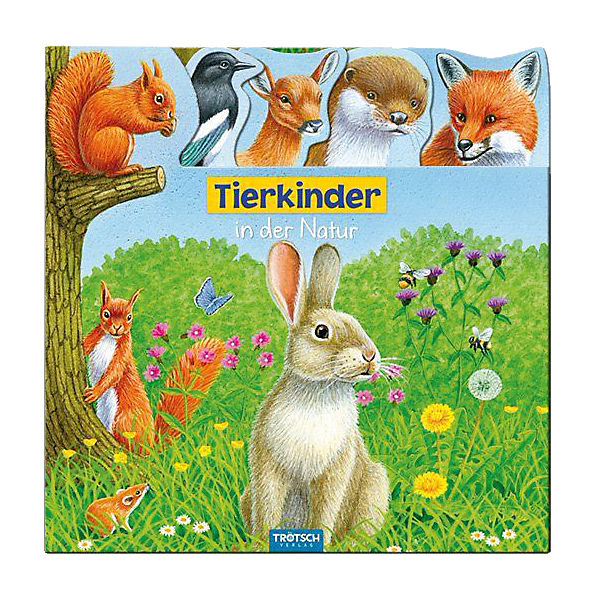 Tierkinder in der Natur