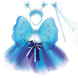 Костюм Бабочки, голубой, Новогодняя сказка
