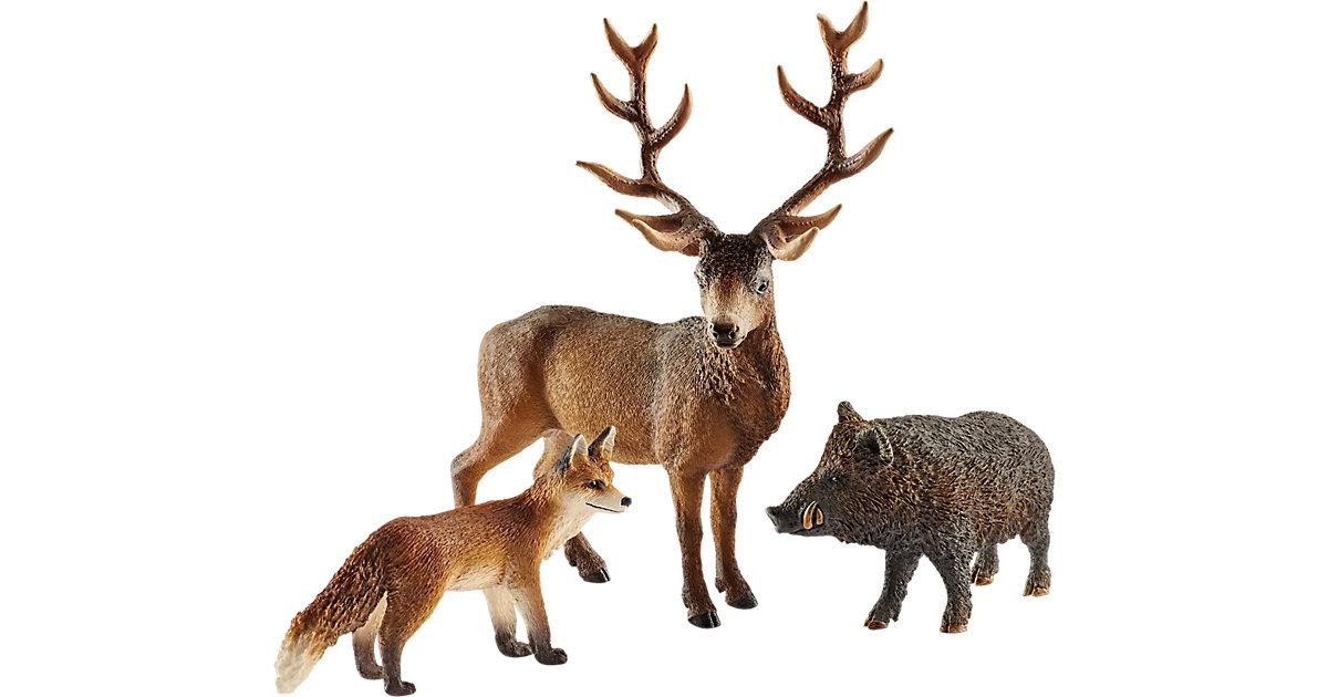 Schleich 41458 Wild Life: Waldbewohner Europas