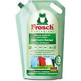 Жидкое средство для стирки цветного белья, 2 л., Frosch