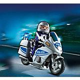 Полиция: Полицейский мотоцикл, PLAYMOBIL