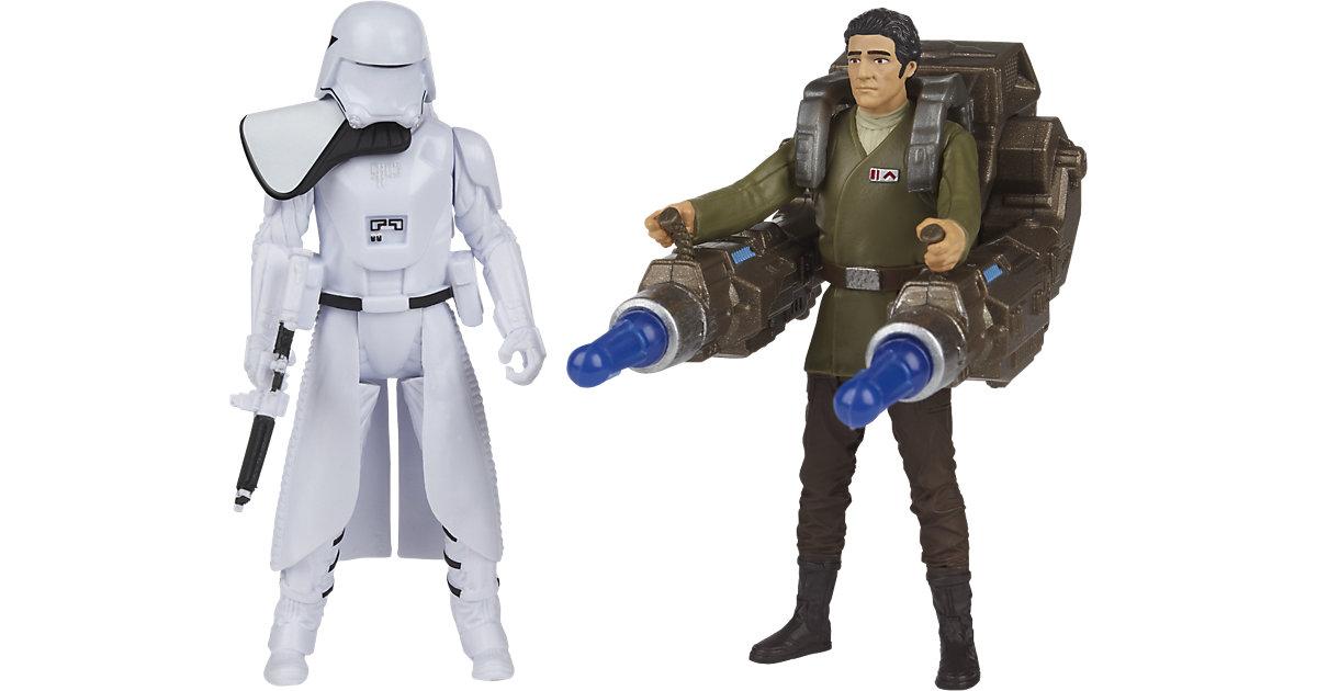 Star Wars Das Erwachen der Macht - Battle-Action Basisfiguren 2er Pack - Poe Dameron & First Order Snowtrooper