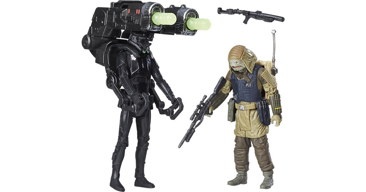 Star Wars Rogue One Battle-Action Basisfiguren 2er Pack - Death Trooper & Rebel Command Pao
