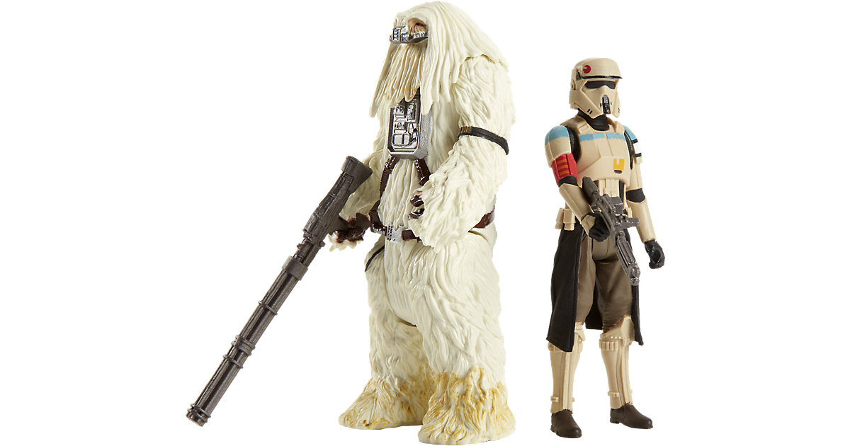 Star Wars Rogue One - Battle-Action Basisfiguren 2er Pack - Scarif Stormtrooper & Moroff