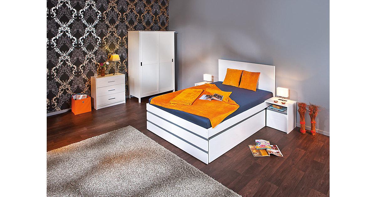 funktionsbett 140x200 weiss preisvergleiche erfahrungsberichte und kauf bei nextag. Black Bedroom Furniture Sets. Home Design Ideas
