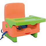 Стульчик для кормления BH-410 Selby, оранжевый/зеленый