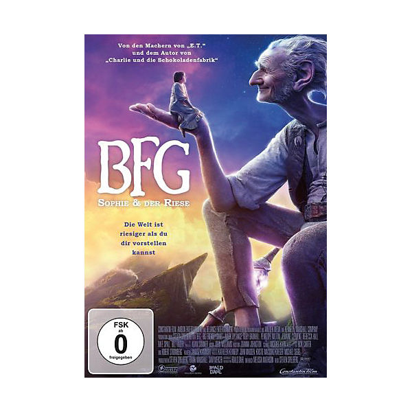 DVD The Big friendly Giant - Sophie und der Riese