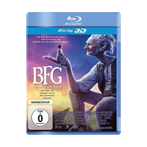 BLU-RAY The Big friendly Giant - Sophie und der Riese