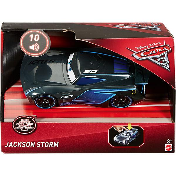 disney cars 3 1 21 lights sounds jackson storm disney cars mytoys. Black Bedroom Furniture Sets. Home Design Ideas