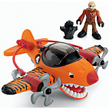 """Летательный аппарат """"Тигровая акула"""", Imaginext, Fisher Price"""