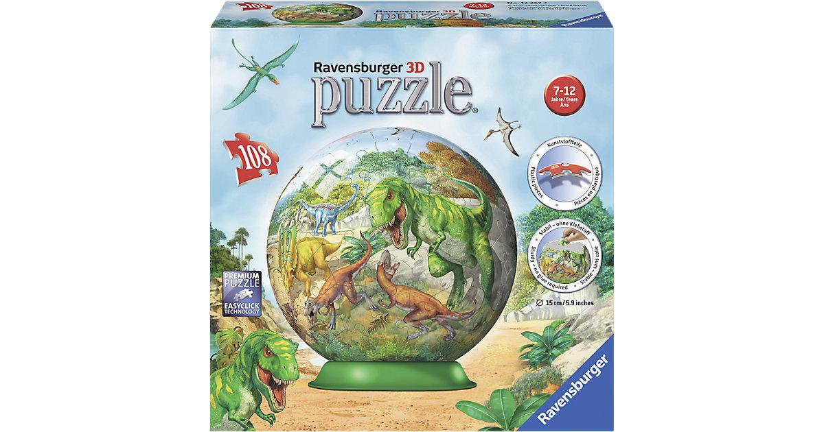 puzzleball® 108 Teile Im Reich der Dinosaurier