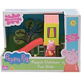 """Игровой набор """"Площадка Домик с горкой"""", Peppa Pig"""