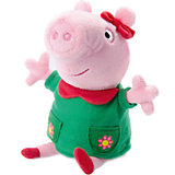"Мягкая игрушка ""Пеппа модница озвученная"", 20 см, Peppa Pig"