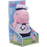 """Мягкая игрушка """"Джордж моряк озвученная"""", 25 см, Peppa Pig"""
