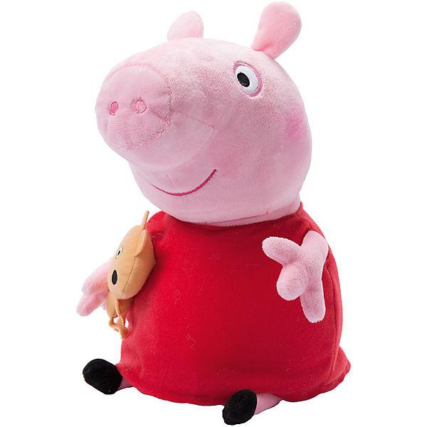 """Мягкая игрушка """"Пеппа с игрушкой"""", 40 см, Peppa Pig"""