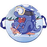"Санки-ледянки № 76 ""Дракон на санках"", диаметр 40см"