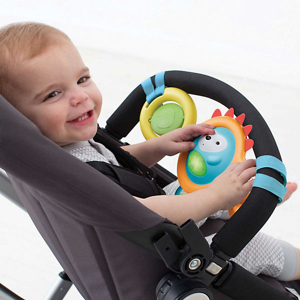 Развивающая игрушка-растяжка на коляску/кресло, Skip Hop