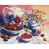 """Алмазная мозаика """"Натюрморт с ягодами"""" 40*50 см"""
