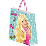 Пакет подарочный, 18*21*8,5 см, Barbie