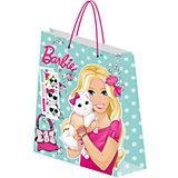 Пакет подарочный 33*43*10 см, Barbie