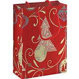 Пакет бумажный подарочный 18*21*8,5 см
