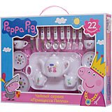 "Набор посуды ""Принцесса Пеппа"", 22 предмета, Свинка Пеппа"