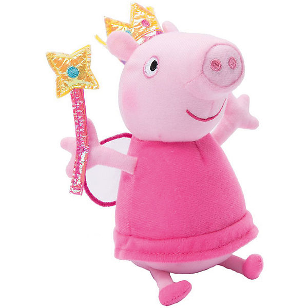 """Мягягкая игрушка """"Пеппа Фея с палочкой"""", 20 см, Свинка Пеппа"""