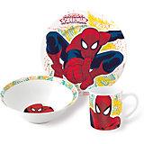 """Набор посуды """"Человек-Паук"""" (3 предмета, керамика)"""