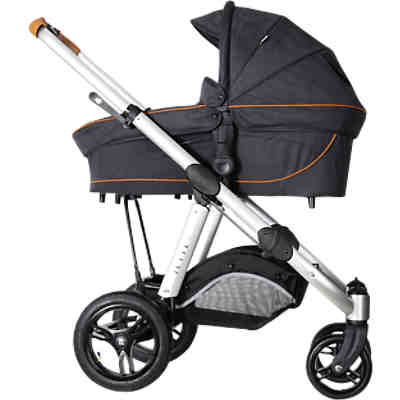 Kombi Kinderwagen JOEL AIR, fishbone graphite