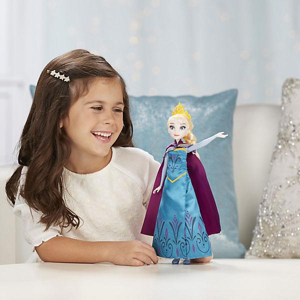 """Кукла """"Холодное сердце"""" Эльза в трансформирующемся платье"""