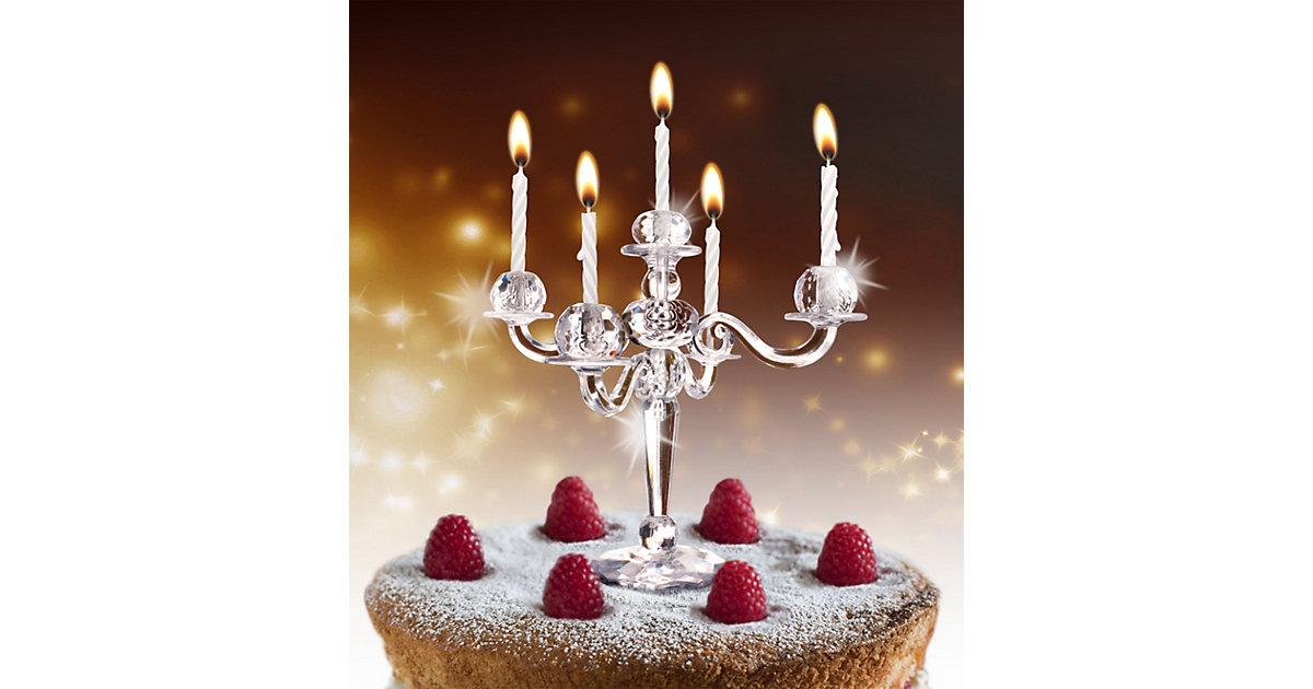 Torten Kerzenständer ´´Bling Bling´´ inkl. Kerzen