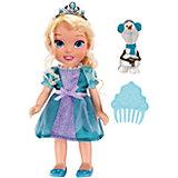"""Кукла-малышка """"Холодное Сердце"""" со снеговиком - Эльза, 15 см"""