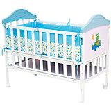 Металлическая кроватка SLEEPY, Babyhit, голубой