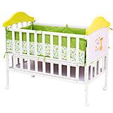 Металлическая кроватка SLEEPY, Babyhit, зеленый