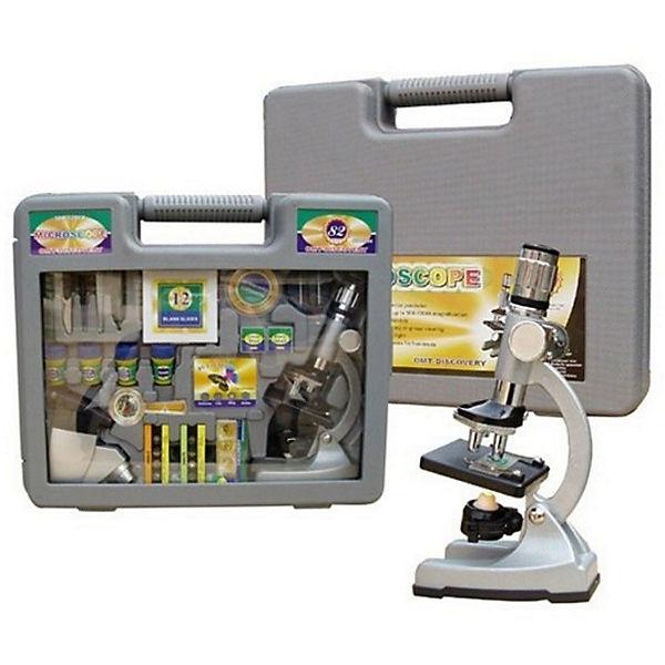 """Набор с микроскопом """"Юный ученый"""" (60 предметов)"""