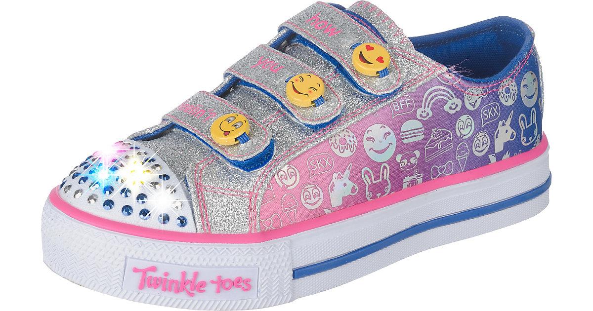 Sneakers Blinkies , wendbare Emojis Gr. 31 Mädchen Kinder