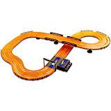 Гоночный трек Hot Wheels 380 см, на батарейках, KidzTech