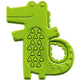 Погремушка-прорезыватель Крокодильчик, Fisher Price