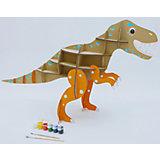 """Набор игровой из картона """"Домашний динозавр: Тираннозавр"""", крафт"""