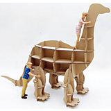 """Набор игровой из картона """"Домашний динозавр: Апатозавр"""", крафт"""